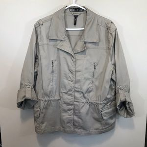 FOJ French Dressing Button Up Cargo Jacket